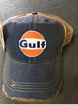 Gulf Distressed Cap Blue