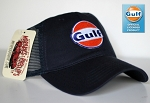 Navy Blue Gulf Trucker Cap