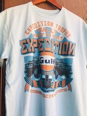 New Gulf West to East Light Blue Tee