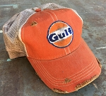 Gulf Distressed Cap Orange