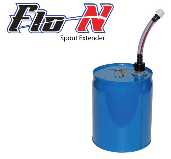 FLO-N-Spout Extender for Steel Pails