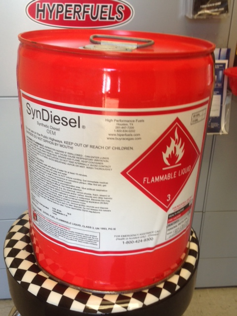 Syndiesel OEM Blend Synthetic Diesel Fuel