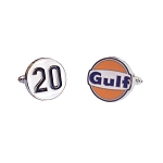 Gulf Le Mans Racing Cuff Links